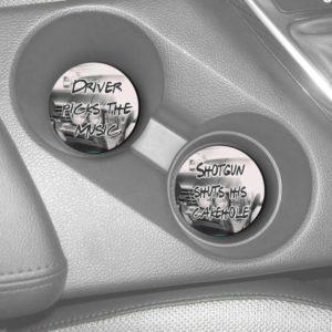 Driver Picks the Music Car Coaster Set