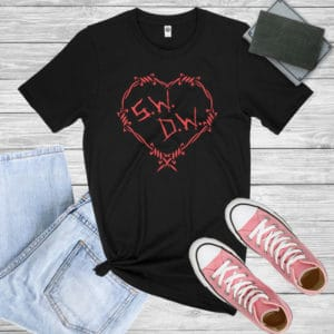 Winchester Brothers Barbwire Heart Shirt.